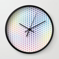 jazz Wall Clocks featuring Jazz by Marta Olga Klara