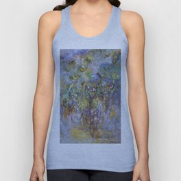 "Claude Monet ""Wisteria"", 1919-1920 Unisex Tank Top"