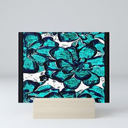 Floral Embosses: Magnolia Daydream 01-01 Mini Art Print