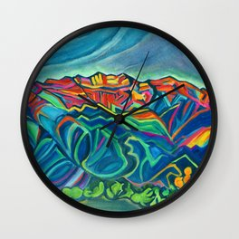 Topa Topas Wall Clock