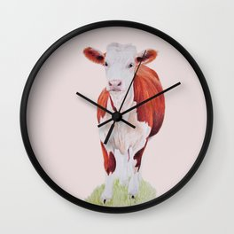 Herefordshire Cow Wall Clock