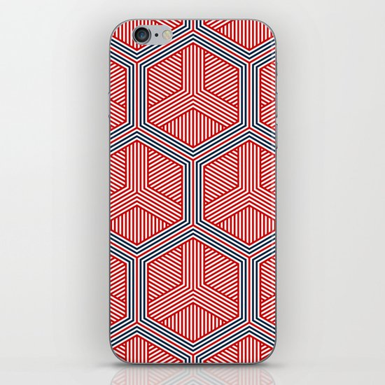 Hexagon No. 2 iPhone & iPod Skin