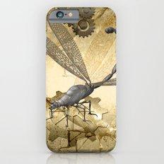 Steampunk, dragonflies iPhone 6 Slim Case