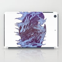 xenomorph iPad Cases featuring Run. Hide. Survive. by Connick Illustrations