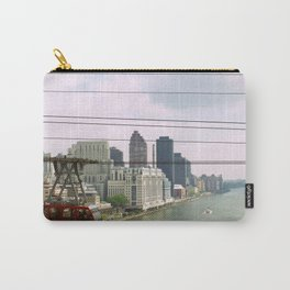 Roosevelt Island Tramway Passing By, New York City Carry-All Pouch