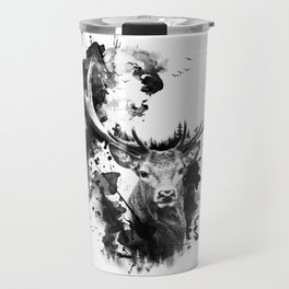 Once upon a Stag Travel Mug