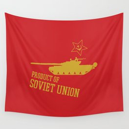 T-72 (Product of SOVIET UNION) Wall Tapestry