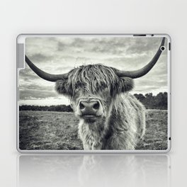Highland Cow II Laptop & iPad Skin