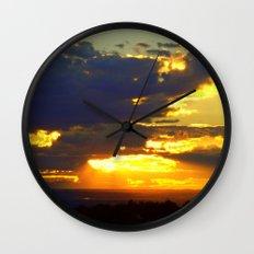 Sunset Splendor Wall Clock