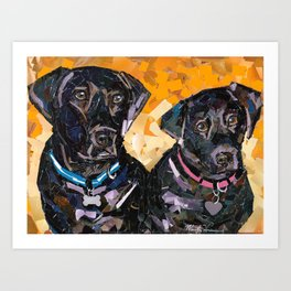 Rocky and Sierra Art Print