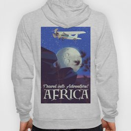 Travel into Adventure! Africa Hoody