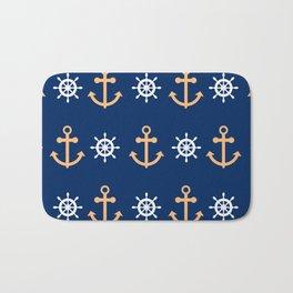 Nautical Pattern Bath Mat