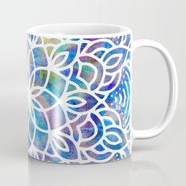 Mandala Little Mermaid Ocean Blue Coffee Mug