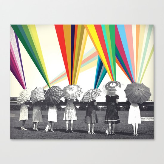 Modern women Canvas Print
