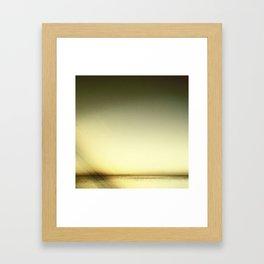 Bay Abstract Framed Art Print