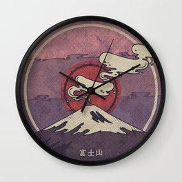 Fuji Wall Clock
