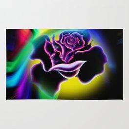 Flowers magic roses 4 Rug