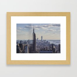 Empire State Classic View Framed Art Print