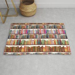 Jane Austen Vintage Book collection Rug