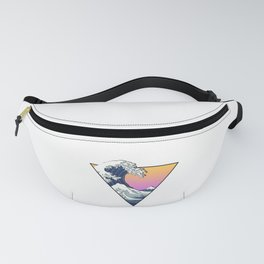 Great Wave Aesthetic Fanny Pack
