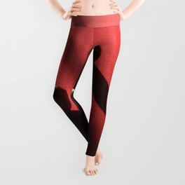 Blood Red Billiard Table and Balls Leggings