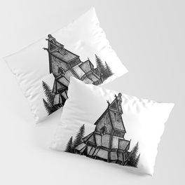 Borgund Stave Church Pillow Sham