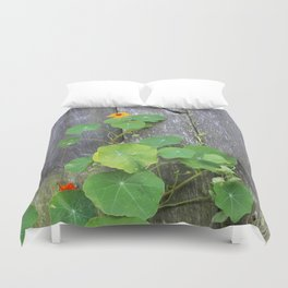The Garden Wall Duvet Cover