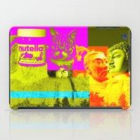 nutella iPad Cases featuring Mountain Rushmore  by Latidra Washington