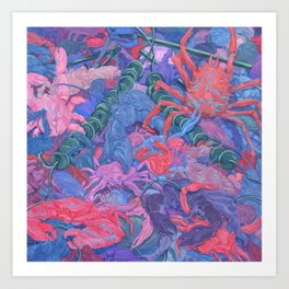 Crabs #2 Art Print