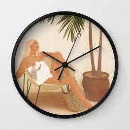 Sunny Glow III Wall Clock