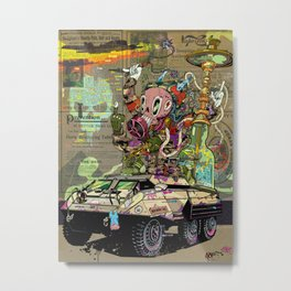 Warpath Metal Print