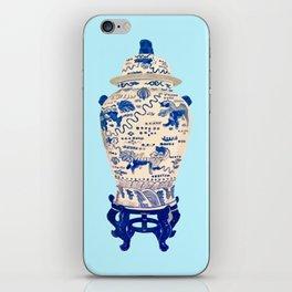 Tsochtkes and Ginger Jar iPhone Skin