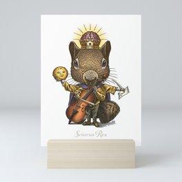 King of Squirrels Mini Art Print