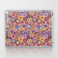 Millefiori-Sunset colorway Laptop & iPad Skin
