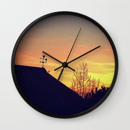 Weathervane Wall Clock