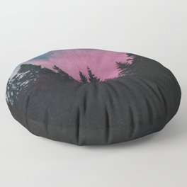 Breathe This Air Floor Pillow