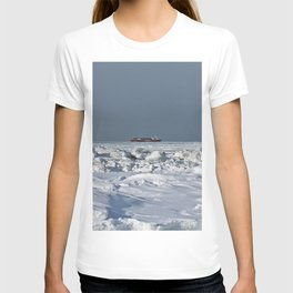 Freighter in the Ice T-shirt