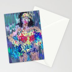 Wonder Type Woman - Abstract Pop Art Comic Stationery Cards