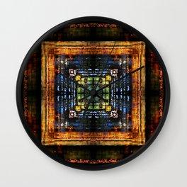 Flame: il Duomo di Milano Wall Clock
