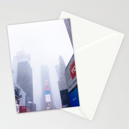 Snowy Times Square, NYC 2 Stationery Cards