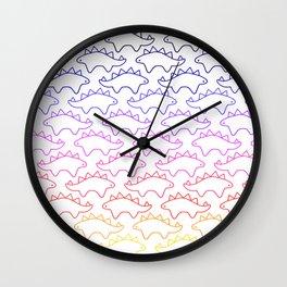 Sunset Steg Wall Clock