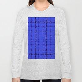jagged, blue Long Sleeve T-shirt