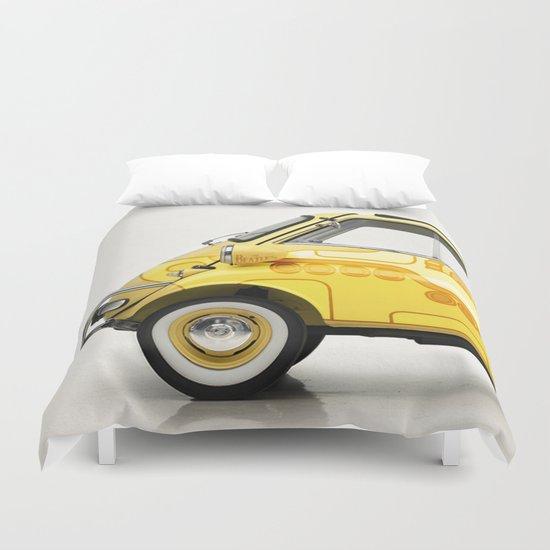 Yellow Submaretta Duvet Cover