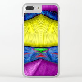 Noble stichery ... Clear iPhone Case