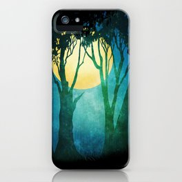 Dance By The Light Of The Full Moon iPhone Case