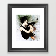 J Anne III Revisited Framed Art Print