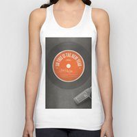 new year Tank Tops featuring New Year by theartdepartment