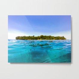 Tropical water Metal Print