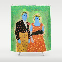 The Invisible Gala 003 Shower Curtain