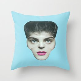 After the cut no.7 Throw Pillow
